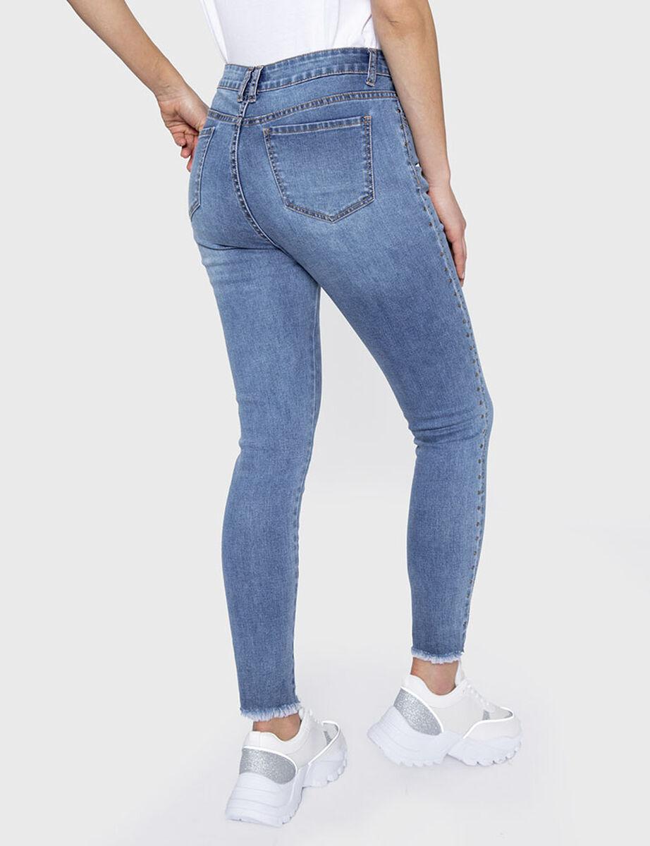 Jeans Skinny Mujer Curvi