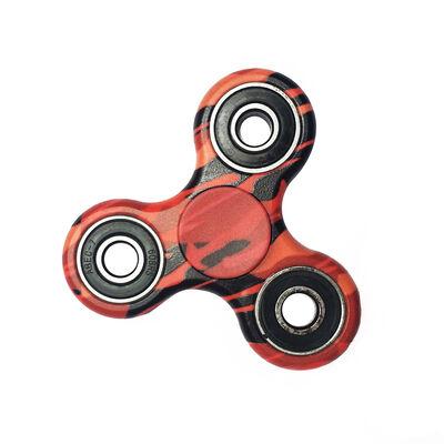 Spinner Camuflaje Rojo