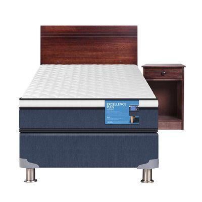 Box Americano 1 Plaza Excellence Plus + Mueble + Respaldo