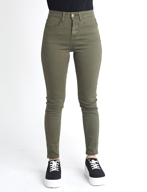 Jeans Indigo Icono Mujer Tiro Alto