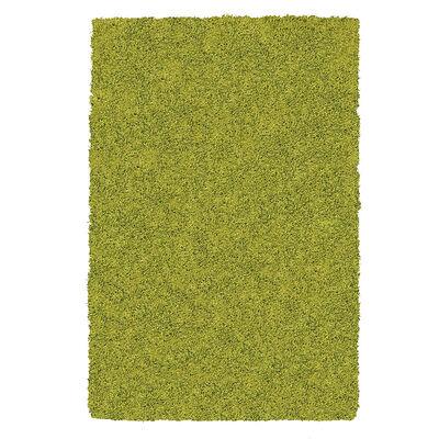 Alfombra Shaggy Mashini 50x200 cm Verde