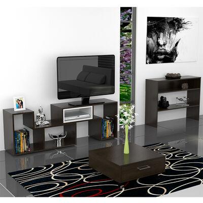 Rack TV Extensible + Mesa de Centro + Arrimo Beijing TuHome