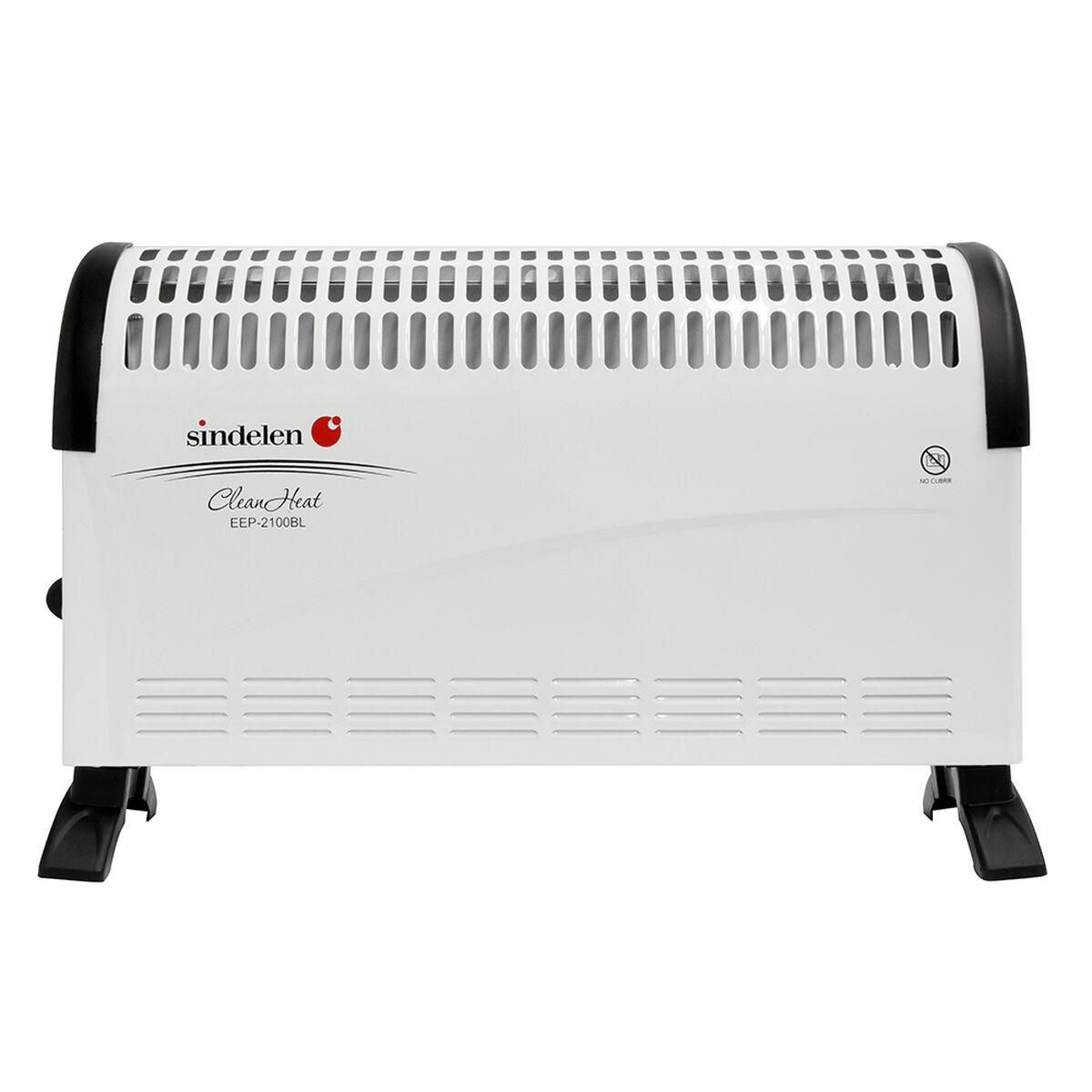 Calefactor Convector Portátil Sindelen EEP-2100BL 750 -1500 W