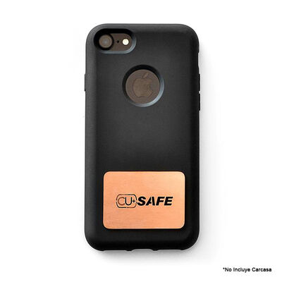Placa Cobre CU+SAFE para Celular reduce Virus y Bacterias