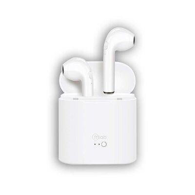 Audífonos Bluetooth Mlab 8533 Air Rhythm Blanco