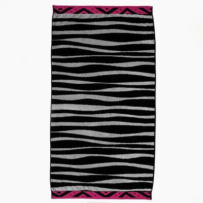 Toalla de Playa Jacquard Zebra 86 x 160 cm