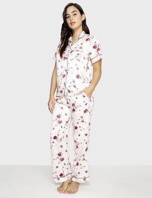 Pijama Dos Piezas Mujer Chicfrance