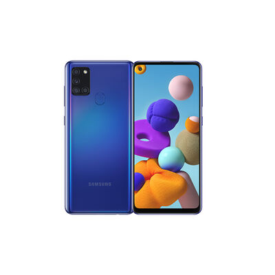 "Celular Samsung Galaxy A21S 128GB 6,5"" Azul Liberado"