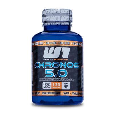Cafeína Anhidra Chronos 5.0 50 Mg 120 Cápsulas 120 Porciones