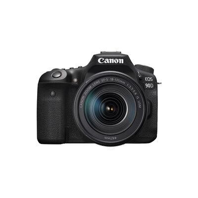 Cámara Digital Canon EOS 90D 18-135mm 32MP 4K