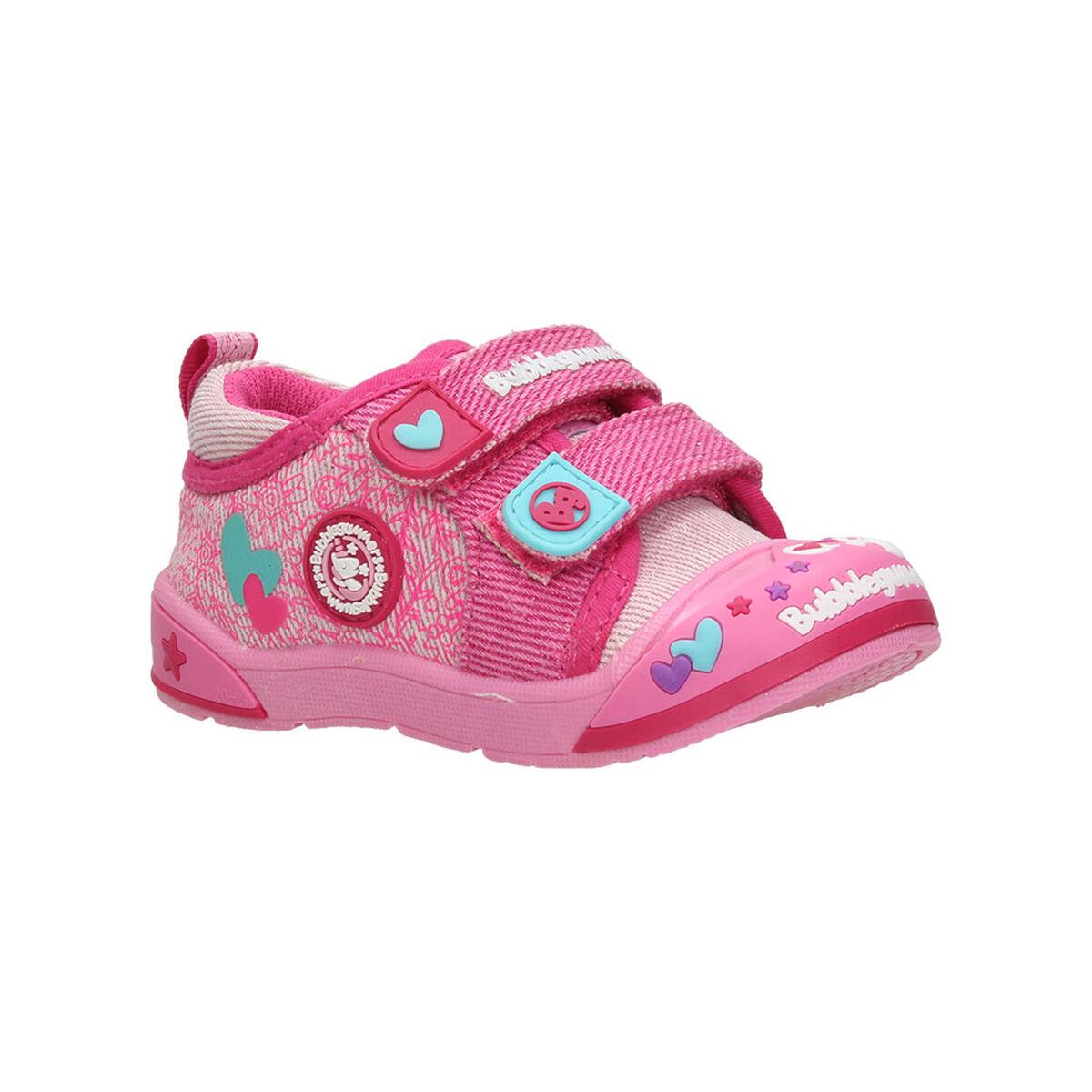 Zapato Lona Niña Bubble Gummers Monky