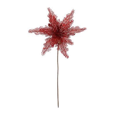 Flor Decorativa Roja Santini 50 cm