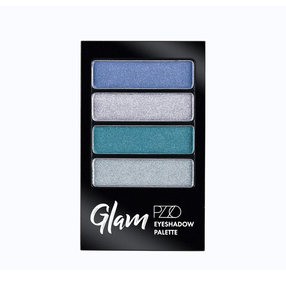 Paleta Sombras Glam Eyeshadow X 4 Blue Sky Petrizzio