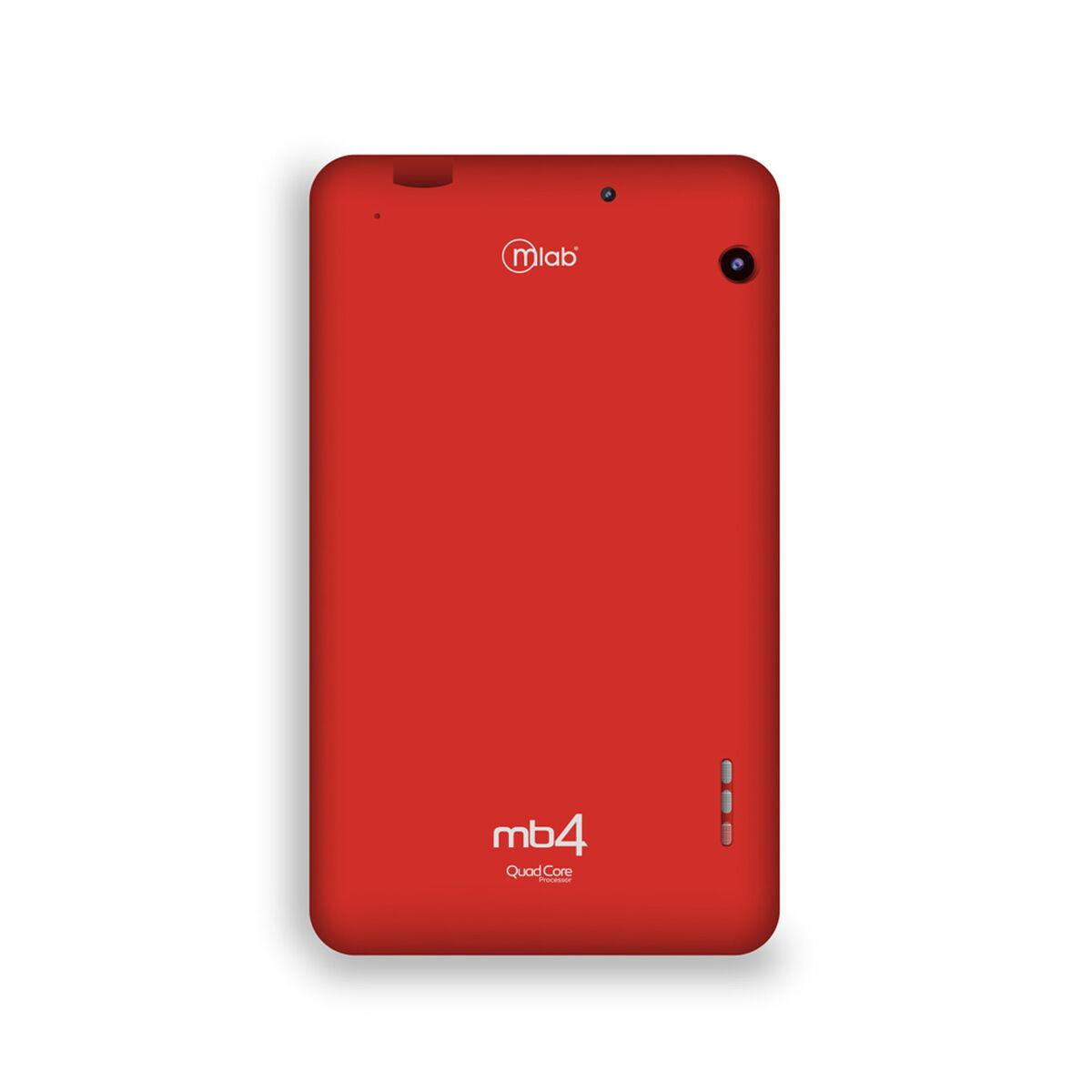 """Tablet Microlab MB4+ Quad Core 1GB 16GB 7"""" Roja"""