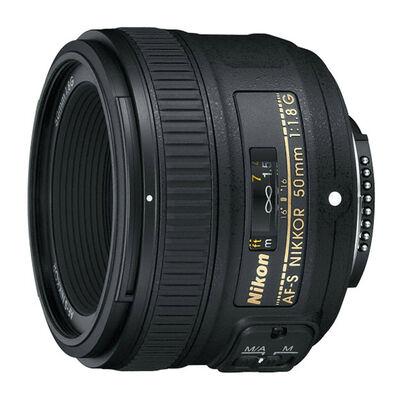 Lente 50mm para Cámara Nikon