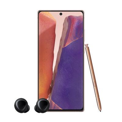 "Combo Celular Samsung Galaxy Note20 256GB 6.7"" Mystic Bronze Liberado + Audifonos Inalámbricos Samsung Galaxy Buds Negros"