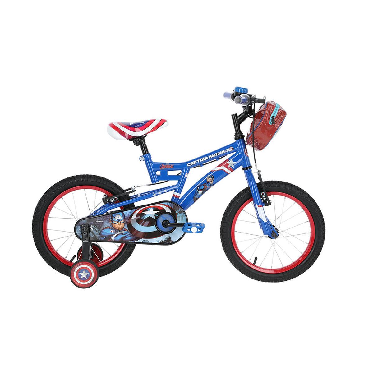 Bicicleta Disney Niño Capitan America Aro 16