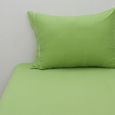 Sábana Microfibra Verde 1,5 Plazas