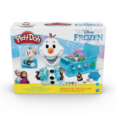 Play-Doh Frozen Olaf En Trineo