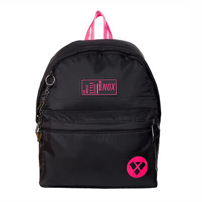 Mochila Funky Quilted Negro