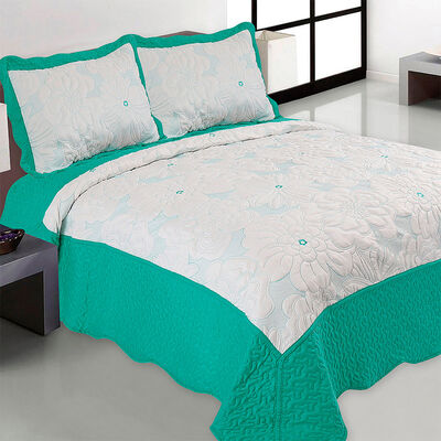Quilt Bordado 2 Plazas