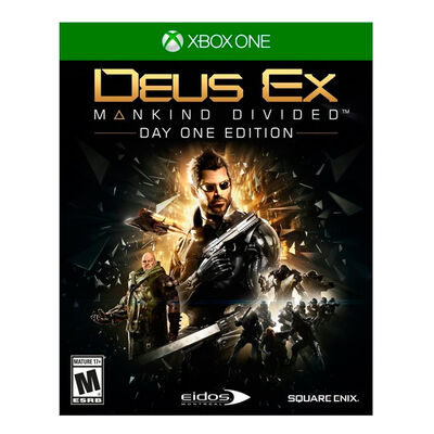 Juego Xbox One Deus Ex: Mankind Divided Precio Especial