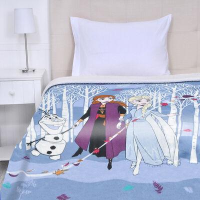 Frazada Polar Disney Arboles Otoño 150 x 200 cm