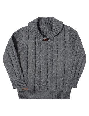 Sweater Trenzado Niño Exception