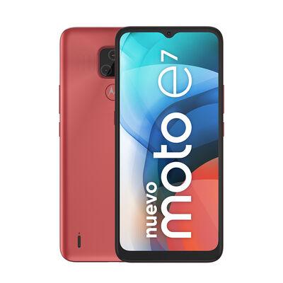 "Celular Motorola E7 32GB 6,5"" Rosa Coral Liberado"
