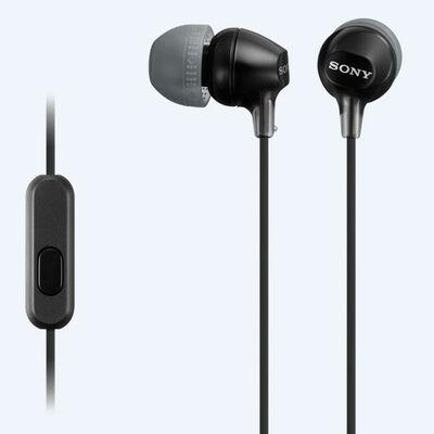 Audífonos Sony MDR-EX15AP Negros