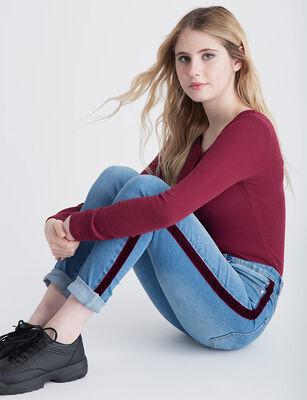 Jeans Indigo Fiorucci Mujer M37ITU9407