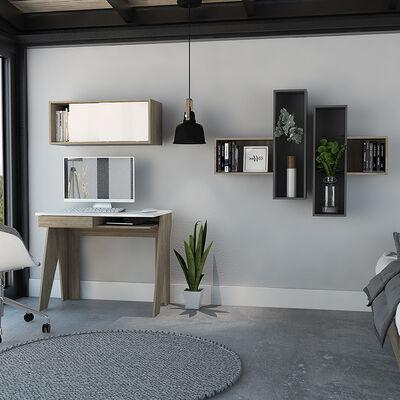 Combo Escritorio + Gabinete + Wall 2A Tuhome Note 10