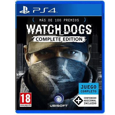 Juego PS4 Watch Dogs Complete Edition