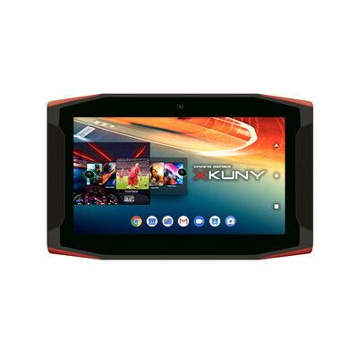 """Tablet Gamer Mlab Xkuny Quad Core 2GB 16GB 7"""" Negro Rojo"""