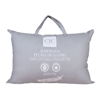 Almohada CIC 100% Pluma De Ganso 50 X 70 cm