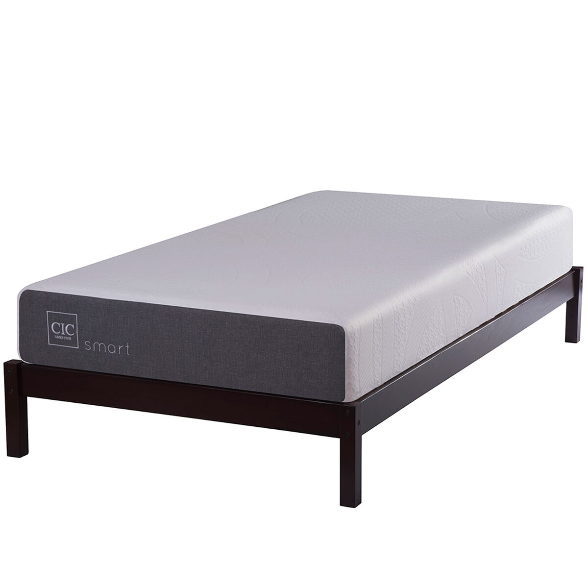 Cama Funcional 1 Plaza Wood
