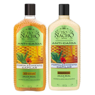 Pack Tío Nacho Herbolaria  Shampoo + Acondicionador