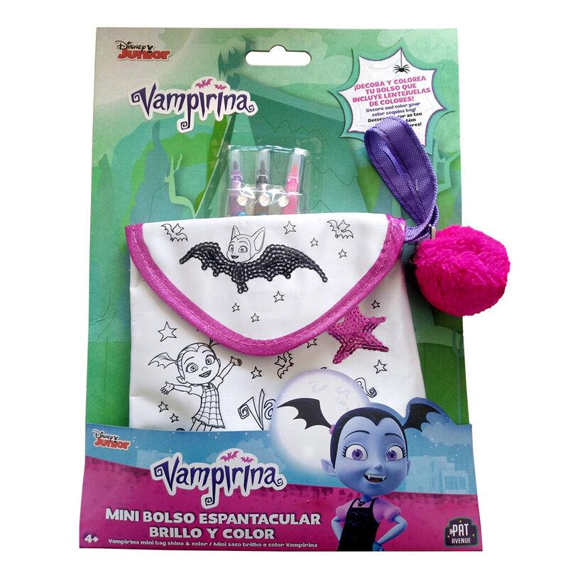 Mini Bolso Espantacular Vampirina Brillo y Color