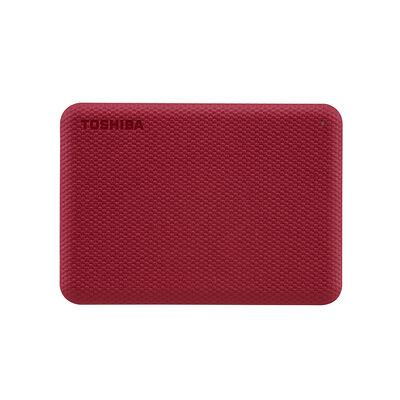 Disco Duro Externo Toshiba Canvio Advance V10 2TB Rojo