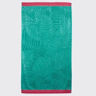 Toalla de Playa Zibel Leaf 100 x 180 cm