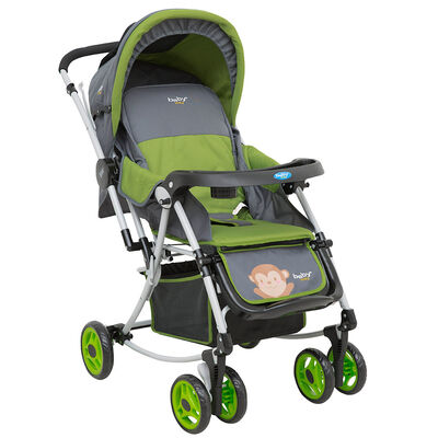 Coche Cuna  Verde Baby Way  BW 305G17