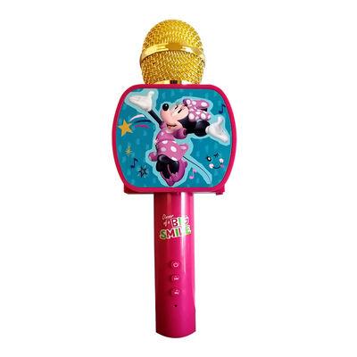 Micrófono Bluetooth para Karaoke Minnie Disney