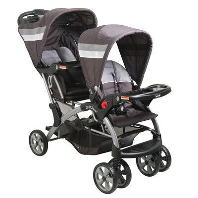 Coche Doble de Paseo Bebesit 8096 Sit And Stand
