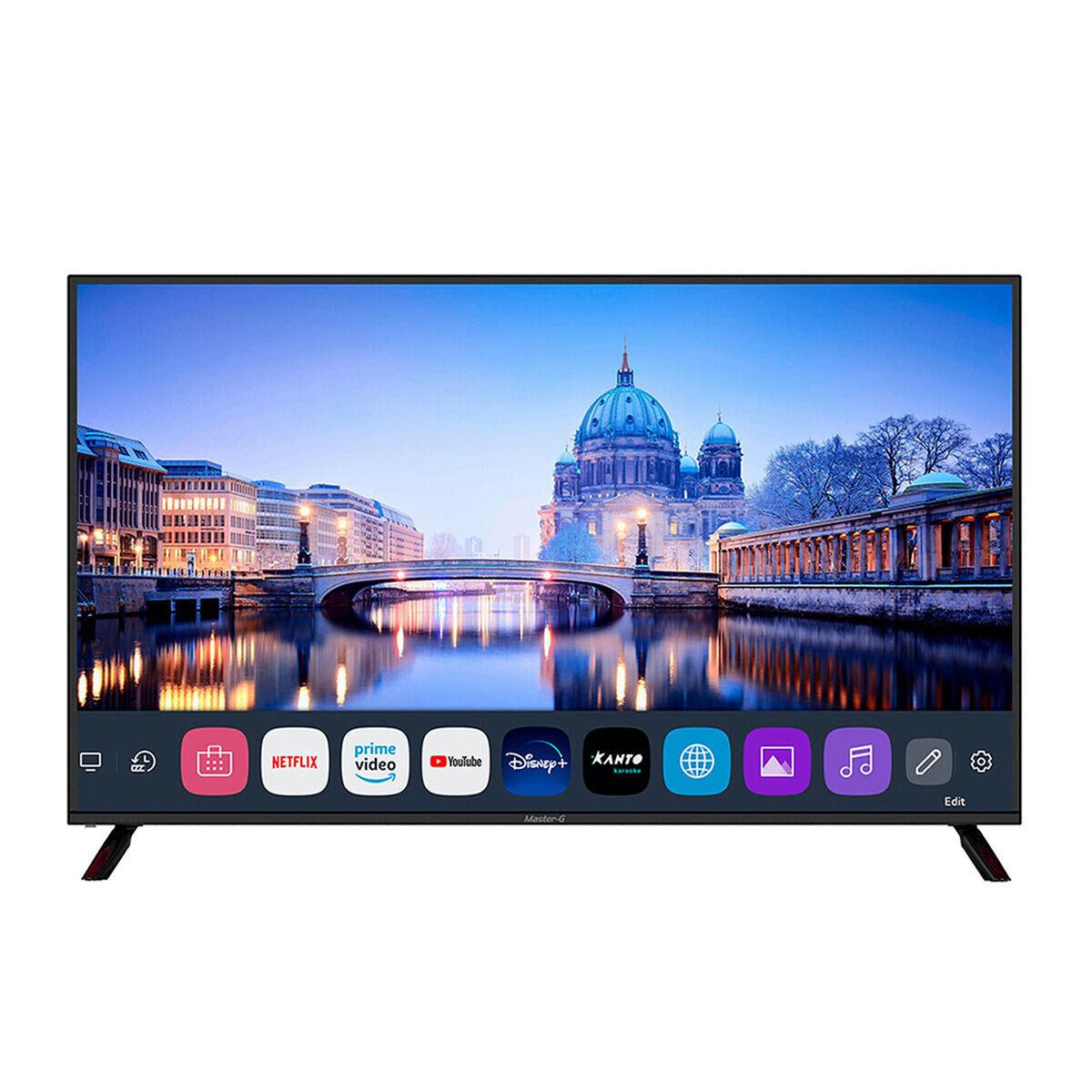 "Combo LED 65"" Master-G MGUB65WB Smart TV UHD + Soundbar MGSB250 Negro"