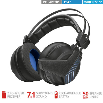 Audífonos Gamer Inalámbrico GXT393 Magna