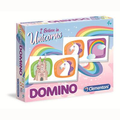 Juego de mesa Clementoni Domino Unicorns