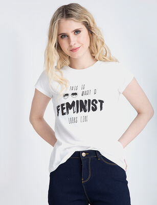 Polera Mujer Icono Blabla
