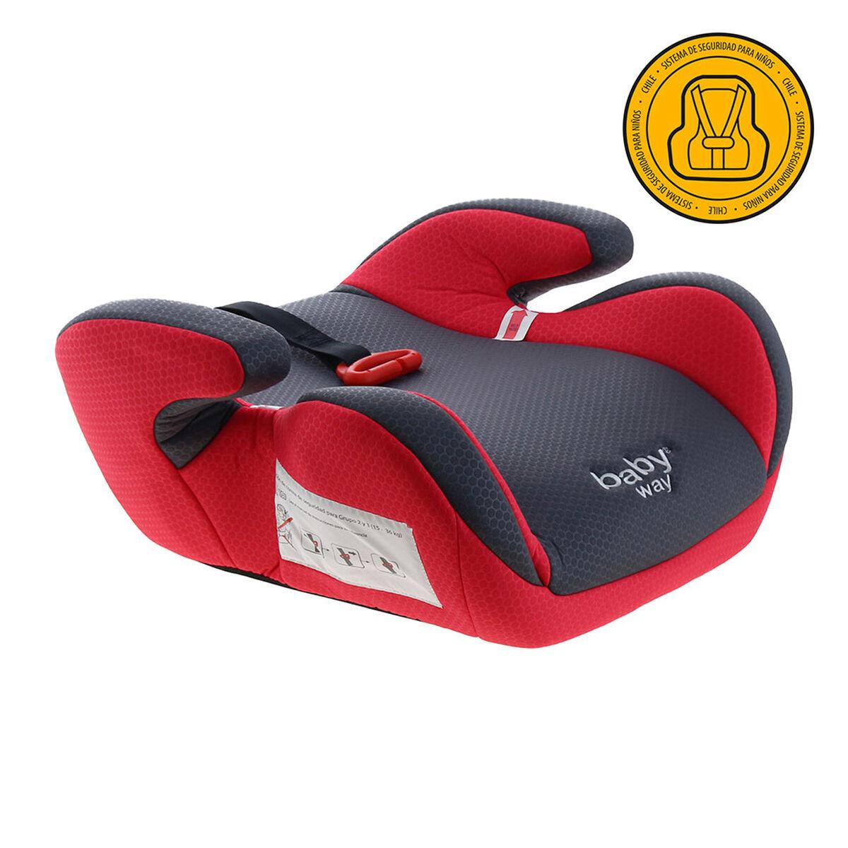 Silla de Auto Alzador Baby Way Fucsia Bw-745R20