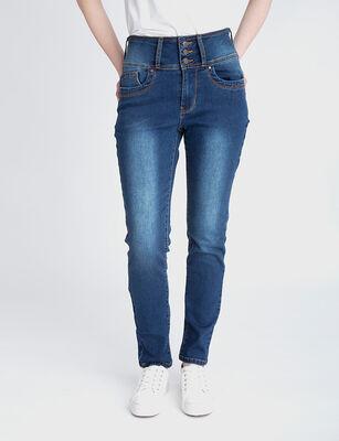 Jeans Indigo Mujer Fiorucci Sara New