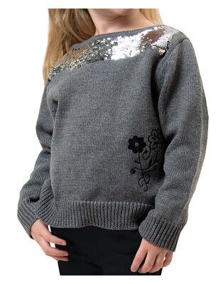 Sweater Lentejuelas Niña Exception